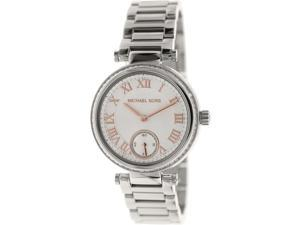 Michael Kors Women's Skylar MK5970 Metallic Silver Stainless-Steel Quartz Watch