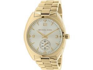 Michael Kors Women's Callie MK3344 Faint Gold Stainless-Steel Quartz Watch