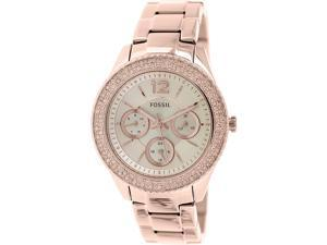 Fossil Women's Stella ES3590 Rose-Gold Stainless-Steel Quartz Watch