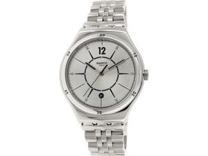 Swatch Women's Irony YWS406G Silver Stainless-Steel Swiss Quartz Watch