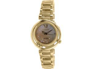 Citizen Women's EM0325-55P Gold Stainless-Steel Eco-Drive Watch