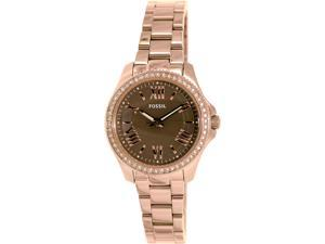 Fossil Women's AM4615 Rose Gold Stainless-Steel Automatic Watch