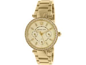 Michael Kors MK6056 Women's Parker Gold Stainless-Steel Quartz Watch