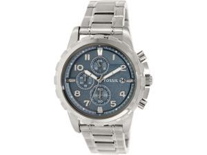 Fossil Men's Dean FS5023 Silver Stainless-Steel Quartz Watch