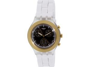 Swatch Men's Irony SVCK4081AG White Plastic Swiss Quartz Watch