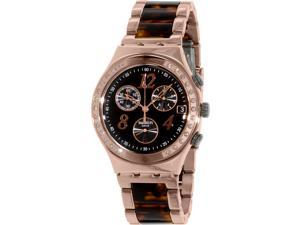 Swatch Women's Irony YCG404GC Rose Gold Stainless-Steel Swiss Quartz Watch