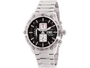 Swiss Precimax PX14017 Men's Typhoon Pro Silver Stainless-Steel Quartz Watch