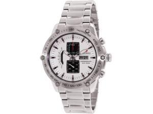 Swiss Precimax PX14018 Men's Typhoon Pro Silver Stainless-Steel Quartz Watch