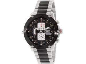 Swiss Precimax PX14019 Men's Typhoon Pro Black Stainless-Steel Quartz Watch