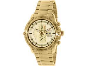 Swiss Precimax PX14020 Men's Typhoon Pro Gold Stainless-Steel Quartz Watch