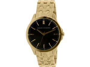 Armani Exchange Men's Smart AX2145 Gold Stainless-Steel Quartz Watch
