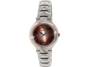 Citizen Women's Eco-Drive FE2047-51W Silver Stainless-Steel Eco-Drive Watch