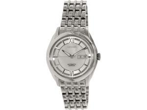 Citizen Men's NH8340-52A Silver Stainless-Steel Automatic Watch