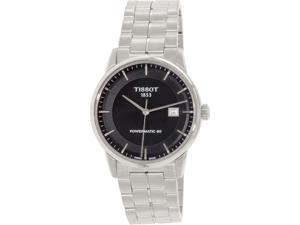 Tissot Men's T-Classic T086.407.11.051.00 Black Stainless-Steel Automatic Watch