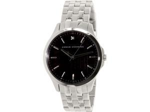 Armani Exchange Men's AX2158 Silver Stainless-Steel Quartz Watch