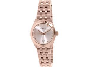 Marc By Marc Jacobs Women's Peeker MBM3374 Rose Gold Stainless-Steel Quartz Watch
