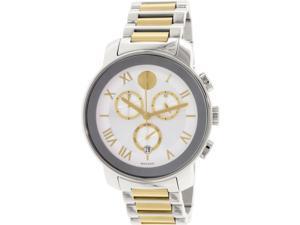 Movado Men's Bold 3600280 Silver Metal Swiss Quartz Watch