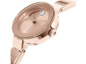 Movado Women's Bold 3600286 Rose Gold Stainless-Steel Swiss Quartz Watch