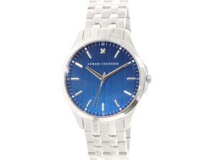 Armani Exchange Men's AX2166 Silver Stainless-Steel Quartz Watch