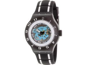 Swatch Men's Originals SUUB101 Black Silicone Swiss Quartz Watch