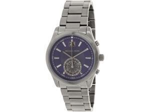 Michael Kors Mens MK8418 Grey Stainless-Steel Swiss Quartz Watch