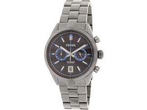 Fossil CH2970 Men's Del Rey Grey Stainless-Steel Quartz Watch