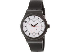 Swatch Men's Originals SUTB402 Black Rubber Swiss Automatic Watch