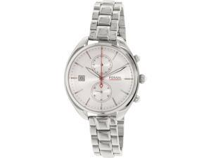 Fossil Women's Land Racer CH2975 Silver Stainless-Steel Quartz Watch
