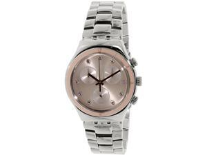 Swatch Women's Irony YCS583G Silver Stainless-Steel Swiss Quartz Watch