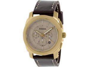 Fossil Men's FS5075 Brown Leather Quartz Watch