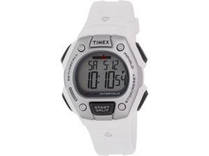 Timex Women's Ironman TW5K88100 White Rubber Quartz Watch