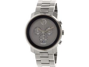 Movado Men's Bold 3600277 Gunmetal Stainless-Steel Swiss Quartz Watch