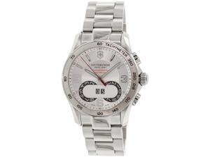 Victorinox Swiss Army Men's Classic 241704 Silver Stainless-Steel Swiss Quartz Watch
