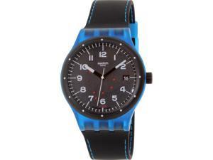 Swatch Men's Sistem51 SUTS402 Black Rubber Swiss Automatic Watch