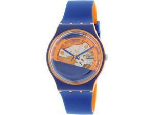 Swatch Men's Originals SUOO102 Blue Silicone Swiss Quartz Watch