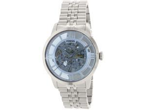 Fossil Men's Townsman ME3073 Silver Stainless-Steel Automatic Watch