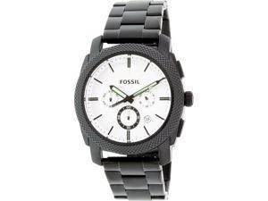 Fossil Men's FS5092 Black Stainless-Steel Quartz Watch