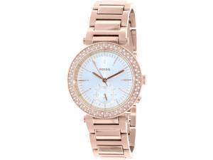 Fossil Women's ES3851 Rose Gold Stainless-Steel Analog Quartz Watch