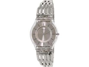 Swatch Women's Skin SFK396G Silver Metal Swiss Quartz Watch