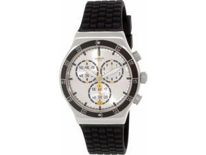 Swatch Men's Irony YVS420 Black Rubber Quartz Watch