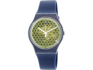 Swatch Men's Originals SUON113 Blue Silicone Swiss Quartz Watch