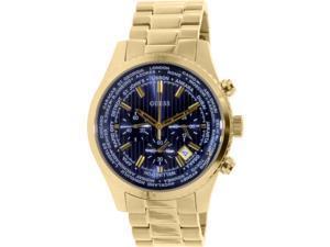 Guess Mens U0602G1 Gold Stainless-Steel Quartz Watch