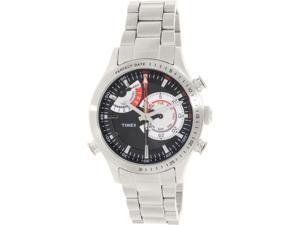 Timex Men's Intelligent Quartz TW2P73000 Silver Stainless-Steel Quartz Watch
