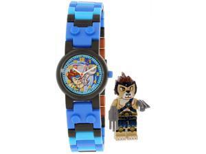 Lego Boy's Legends Of Chima 8020080 Black Plastic Quartz Watch