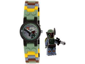 Lego Boy's Star Wars 8020363 Black Plastic Quartz Watch