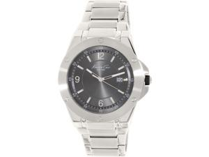 Kenneth Cole Men's 10020832 Silver Stainless-Steel Quartz Watch