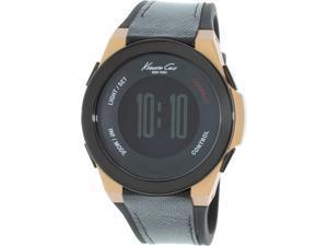 Kenneth Cole Men's 10022939 Black Rubber Quartz Watch