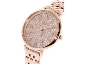 Fossil Women's Jacqueline ES3804 Rose Gold Stainless-Steel Quartz Watch