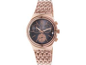 Swatch Men's Irony YCG412G Rose Gold Stainless-Steel Quartz Watch