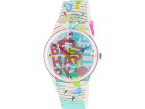 Swatch Women's Originals SUOZ196 Multi Rubber Quartz Watch